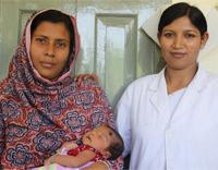 Helping Newborns Breathe