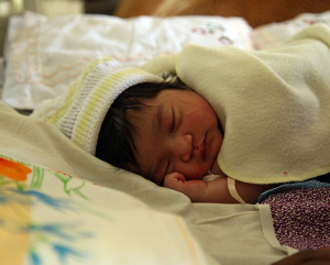 Newsletter January - Newborn baby