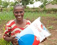 WMD Statement - woman holding Olyset net