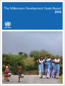 MDG Report 2015 - cover