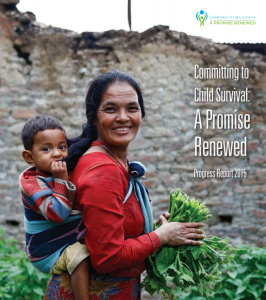 A Promise Renewed - 2015 Progress Report