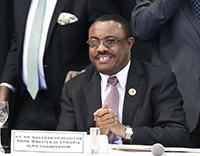 Prime Minister Hailemariam Dessalegn of Ethiopia.