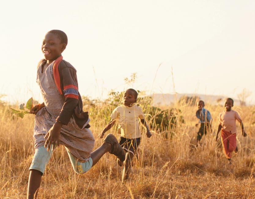 Malaria free children.